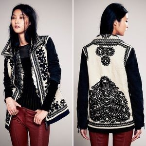 + FREE PEOPLE +  Stitched Quills Jacket